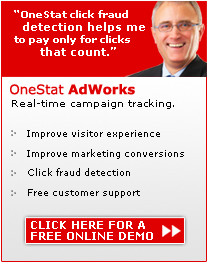 Click here to start your OneStat AdWorks demo.